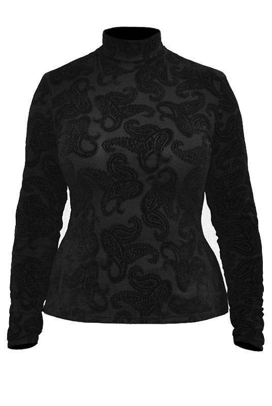 Блузка трикотаж Mila 350ЧФ03550о