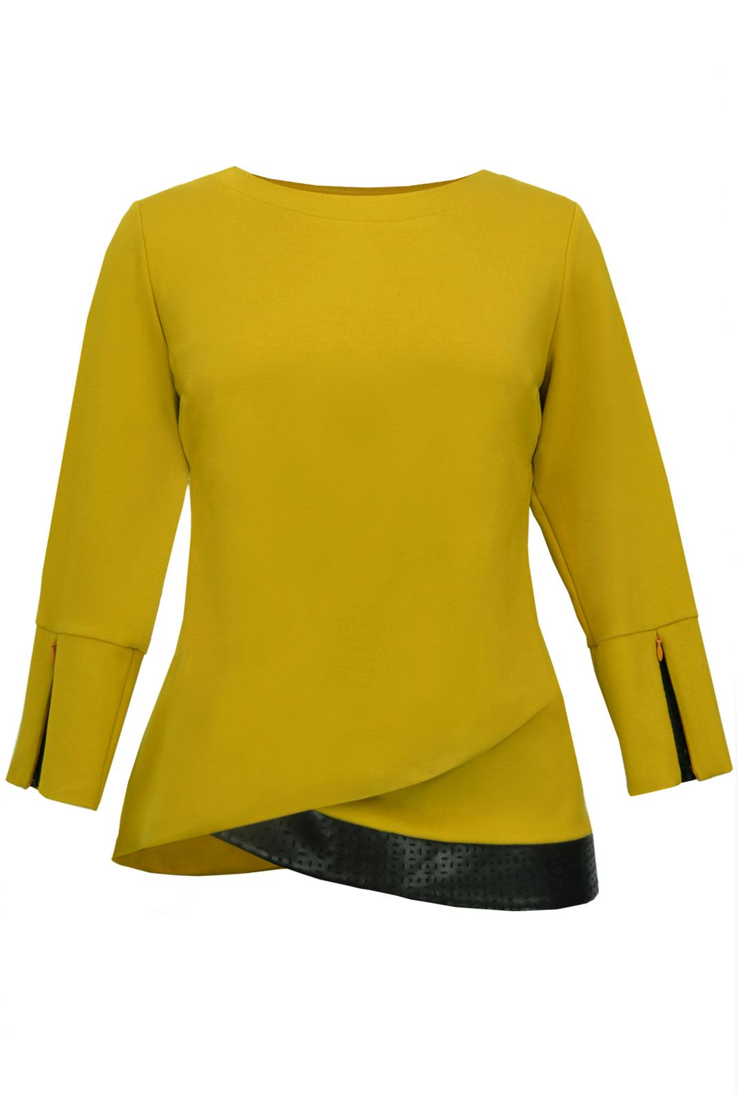 Горчичная блузка с доставкой