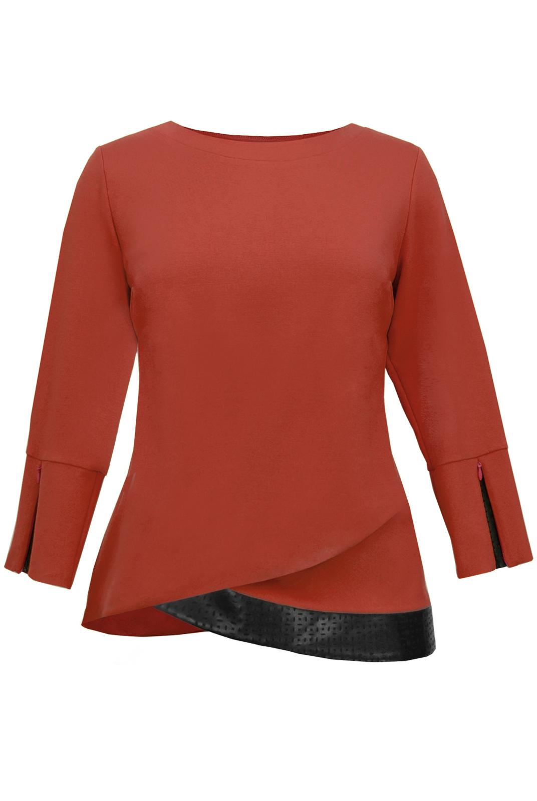 Купить блузку трикотаж