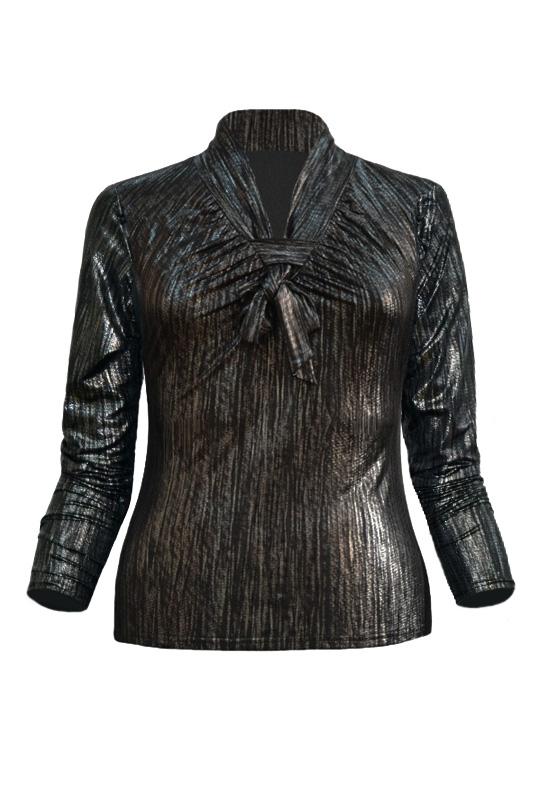 Блузка трикотаж Mila 391М03650о
