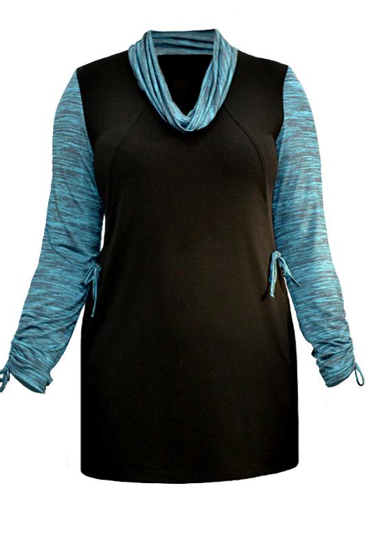 Блузка трикотаж Mila 423МГ03168ШР