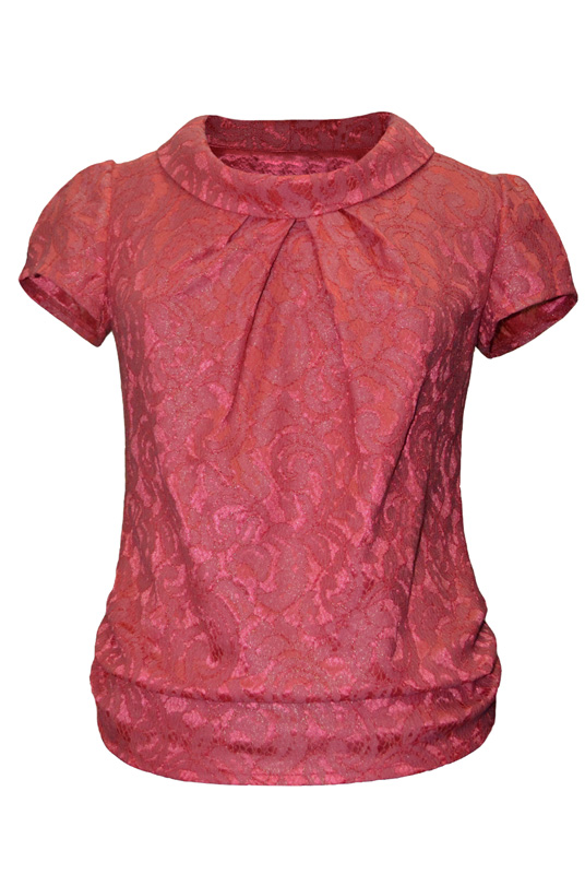 Блузка трикотаж Mila 428КЛ03444Л