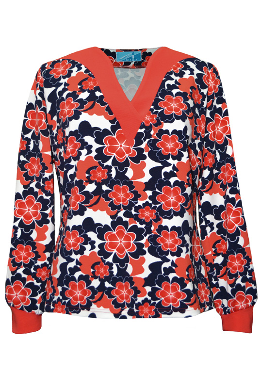 Блузка трикотаж Mila 444КЦ031205ЛП